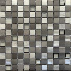 Mosaic-Bluestone Aluminium Glass Blend