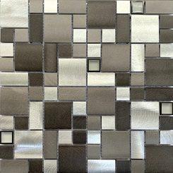 Mosaic-Bluestone Aluminium Glass Blend French