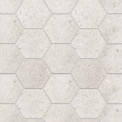 Mosaic_Betonic Bianco Hexagon