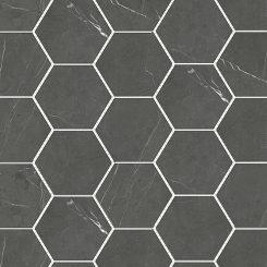 Mosaic_Bracca Dark Grey Hexagon