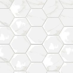 Mosaic_Mamo Grigio Hexagon Gloss