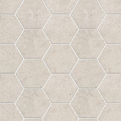 Mosaic_Kosmos Beige Hexagon