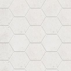 Mosaic_Kosmos Ivory Hexagon