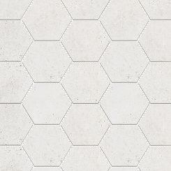 Mosaic_Kosmos Ivory Hexagon