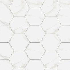 Mosaic_Mamo Grigio Hexagon