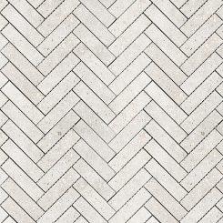 Mosaic_Betonic Bianco Herringbone