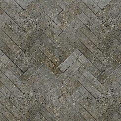 Mosaic_Betonic Charcoal Herringbone