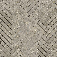 Mosaic_Betonic Dark Grey Herringbone