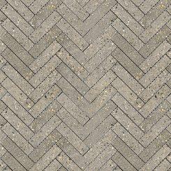 Mosaic_Betonic Dark Grey Herringbone