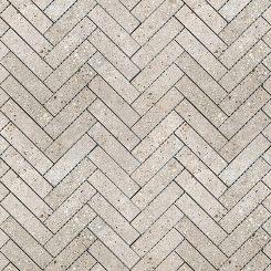 Mosaic_Betonic Light Grey Herringbone
