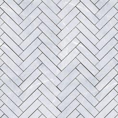 Mosaic_Bracca Bianco Herringbone