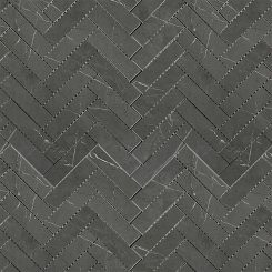 Mosaic_Bracca Dark Grey Herringbone