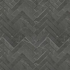 Mosaic_Bracca Dark Grey Herringbone