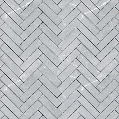 Mosaic_Bracca Light Grey Herringbone