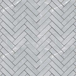 Mosaic_Bracca Light Grey Herringbone