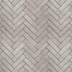Mosaic_Kosmos Light Grey Herringbone