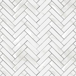 Mosaic_Mamo Grigio Herringbone Gloss